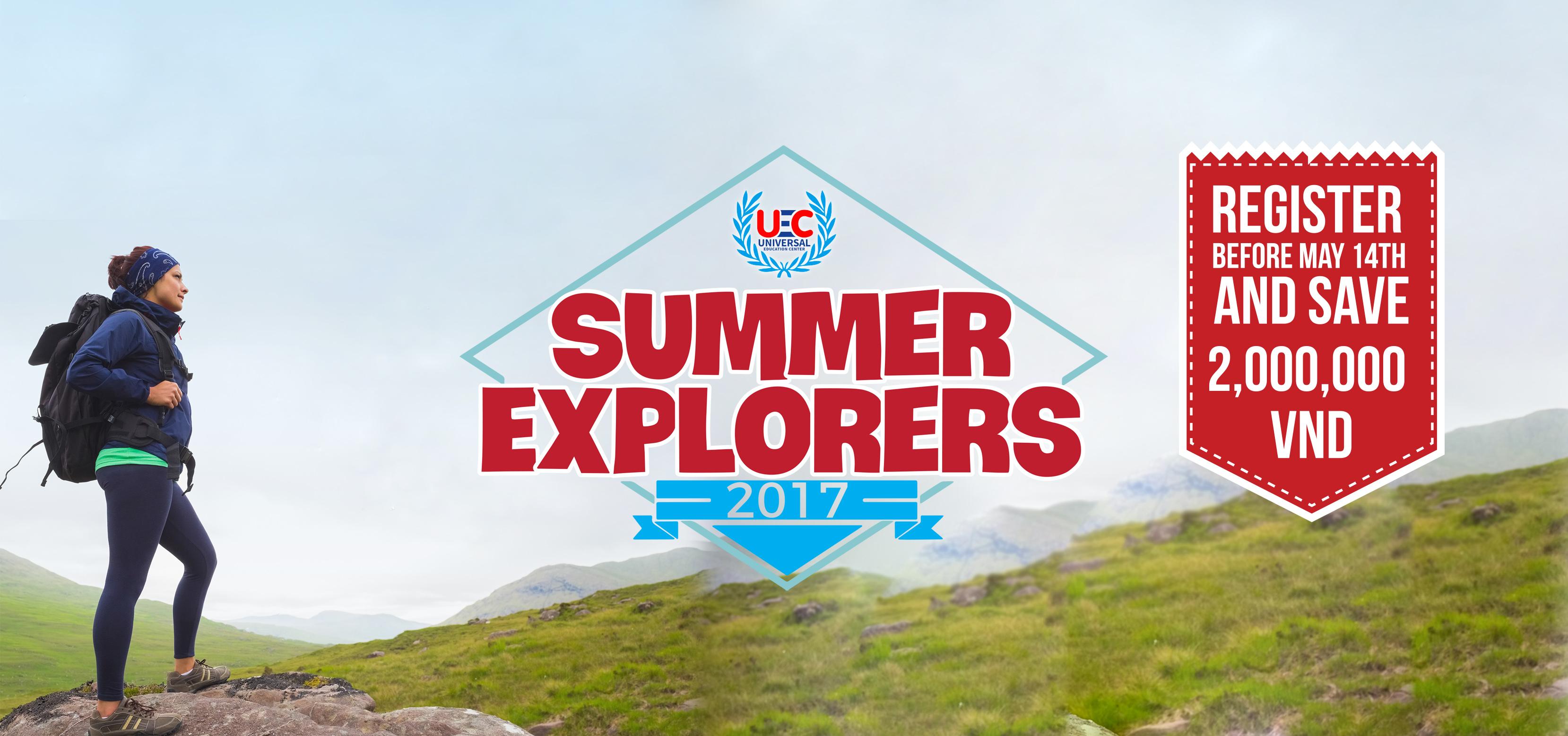 Summer Explorers 2017