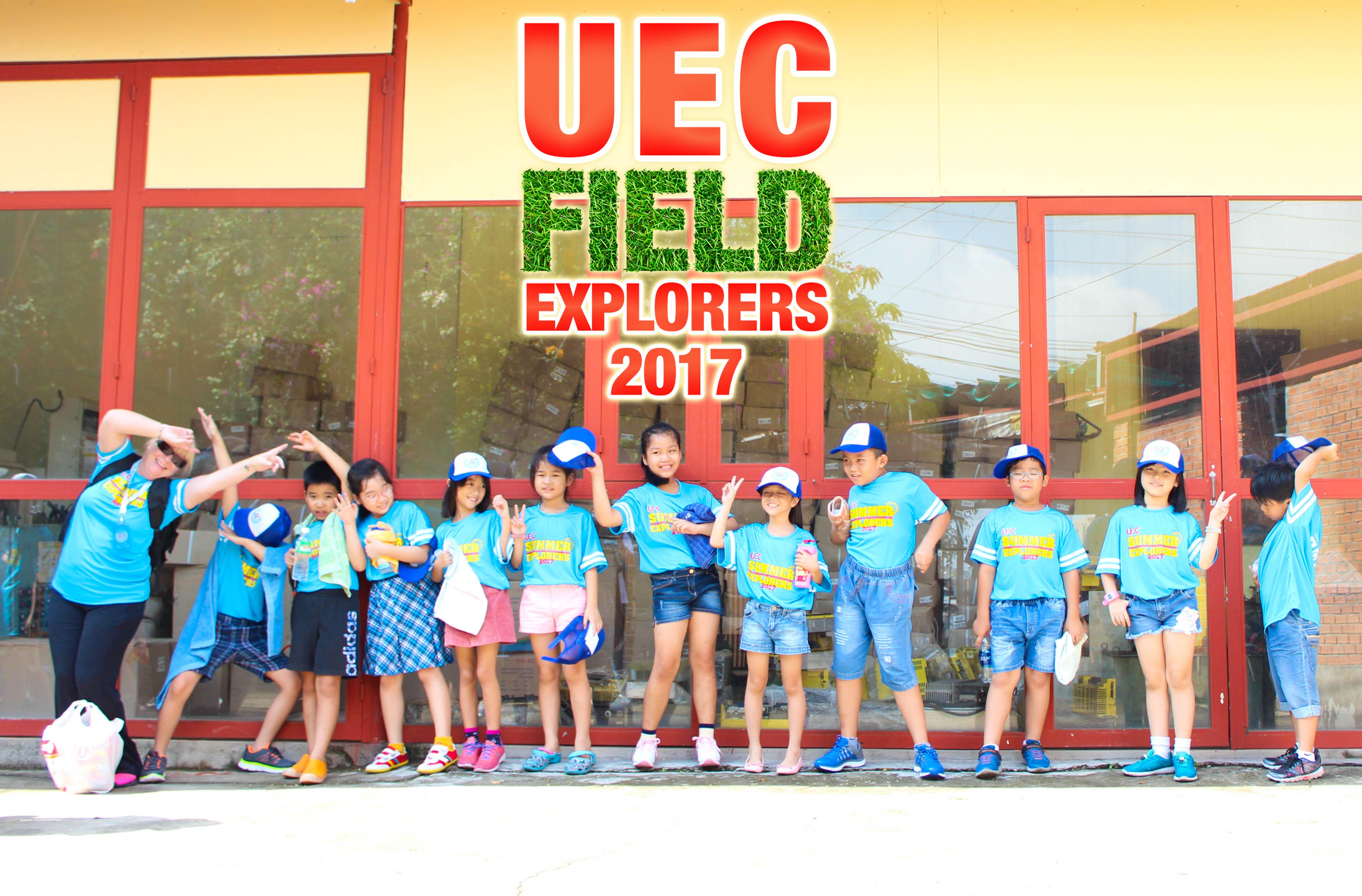 Field Explorers (UEC Summer Program Friday activity)