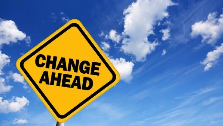 Sự thay đổi đang diễn ra